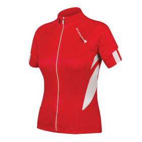Endura Ladies FS260-Pro Jetstream Jersey - Red
