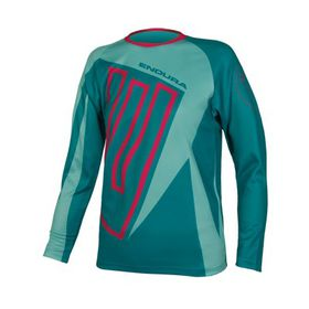 Endura Kids MT500JR L/S T  Jersey - Blue