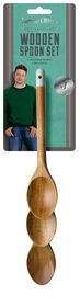 Jamie Oliver - Set of 3 Wooden Spoons