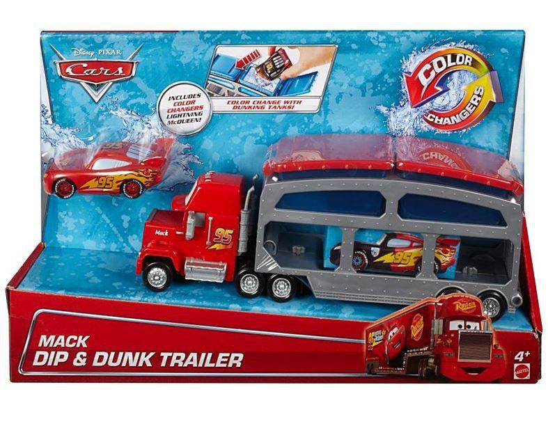 Disney Pixar Cars Mack Dip & Dunk Trailer Colour Change | Buy Online ...