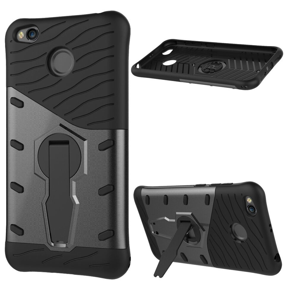 Tuff luv hybrid combination case with holder for xiaomi redmi 4x tuff luv hybrid combination case with holder for xiaomi redmi 4x black stopboris Gallery
