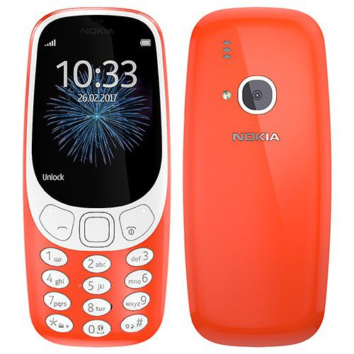Day At The Track >> Nokia 3310 (2017) 16mb Gsm - Warm Red | Buy Online in South Africa | takealot.com