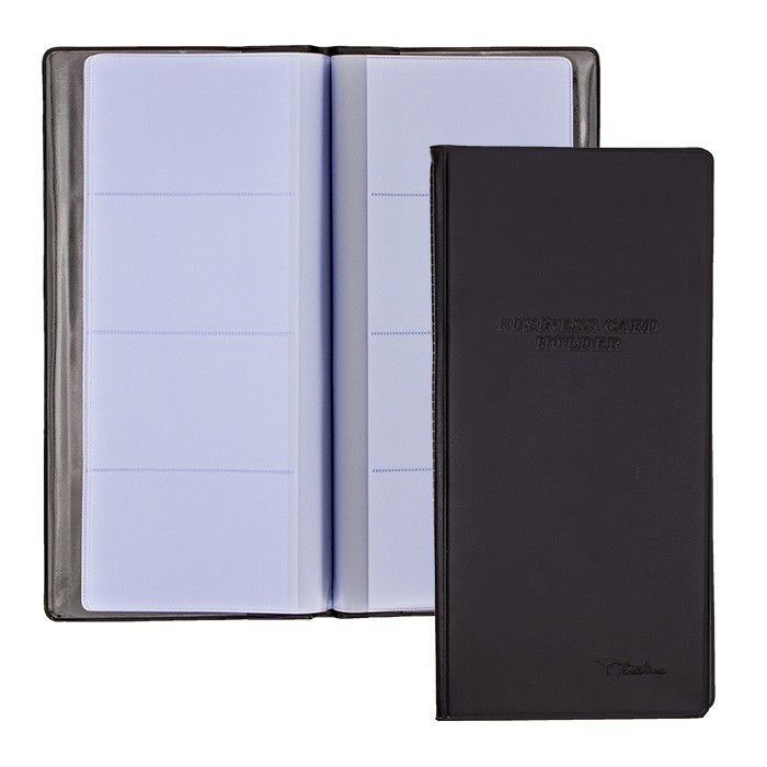 Treeline 160 card business card holder black buy online in south 160 card business card holder black loading zoom reheart Images