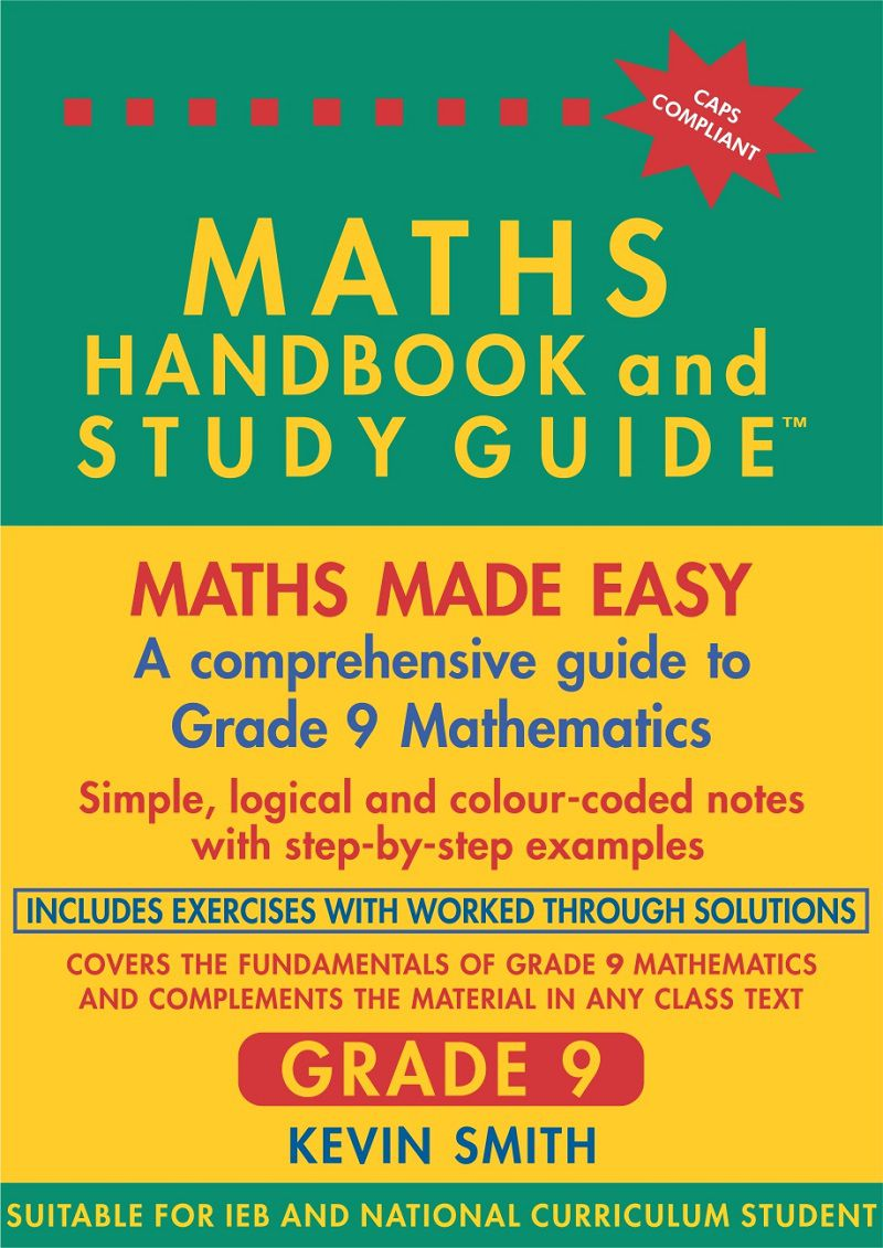 Maths handbook study guide grade 9 buy online in south africa maths handbook study guide grade 9 loading zoom fandeluxe Images