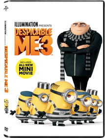 Despicable Me 3 (DVD)