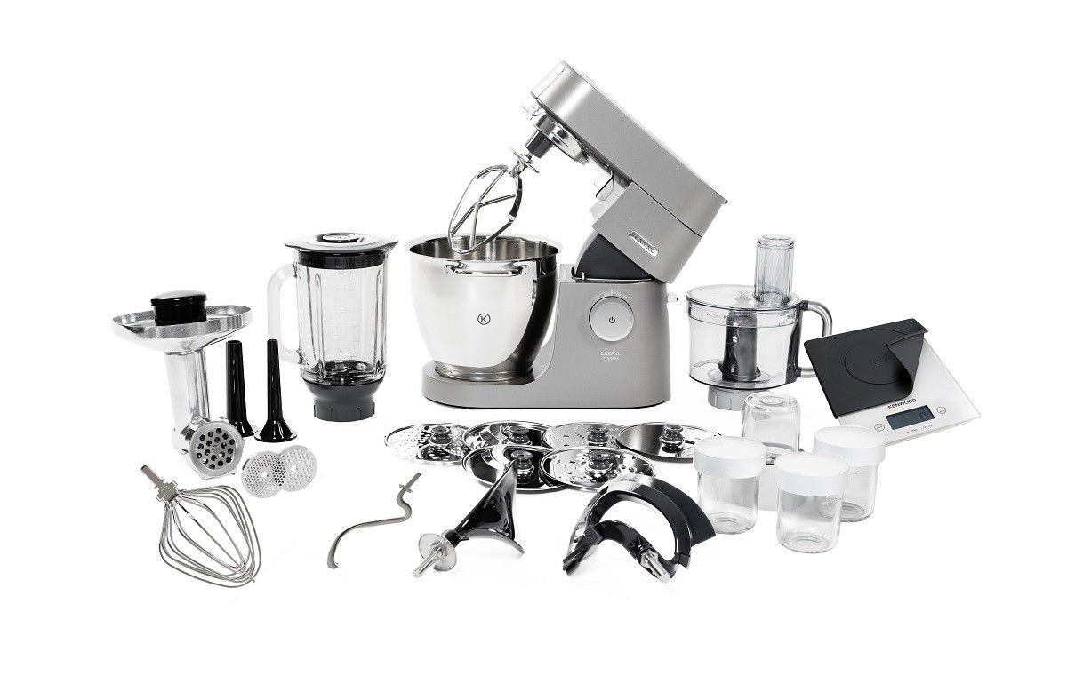 Mixers Amp Attachments Kenwood Titanium Chef Xl Mega