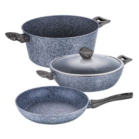 Berlinger Haus - Marble Coating Cookware Set