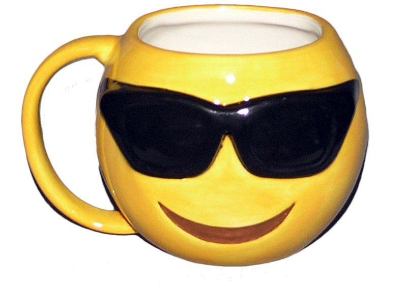 Sunglasses Emoji Mug ...