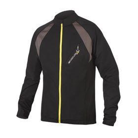 Endura Full Zip Long Sleeve Jersey II - Black