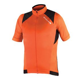 Endura MTR Windproof Short Sleeve Jersey - Orange