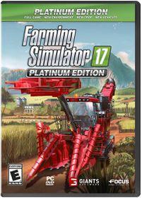 Farming Simulator 17: Platinum Steelbook Edition (PC/DVD)