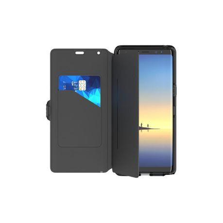 hot sale online 2a13b e0504 Tech21 Evo Wallet Flip Cover for Galaxy Note 8 - Black | Buy Online ...