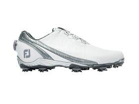 Footjoy Men's DNA Golf Shoe - White & Platinum