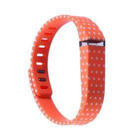 Pattern Band for Fitbit Flex - Orange Dots