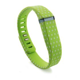 Fitbit Flex Pattern Dots Band - Green