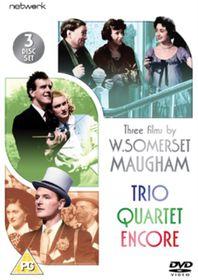 Three Films By Somerset Maugham - Trio / Encore / Quartet - (Import DVD)