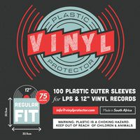 Vinyl Protector Regular Fit Outer LP Record Sleeves