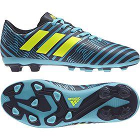 Boy's adidas Nemeziz 17.4 Flexible Ground Football Boots