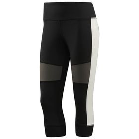 Women's Reebok Colourblock 3/4 Tights