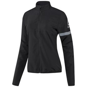 Women's Reebok Vizlocity Lightweight Woven Running Jacket