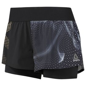 Women's Reebok 2-in-1 Reflective Shorts