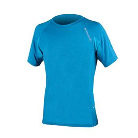 Endura Men's Single Track Lite Wicking T - Blue