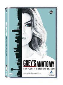 Grey's Anatomy Season 13 (DVD)