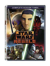 Star Wars Rebels Season 3 (DVD)