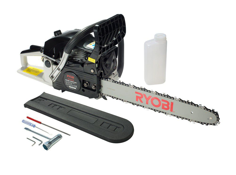 Ryobi petrol chain saw buy online in south africa takealot ryobi petrol chain saw loading zoom greentooth Images
