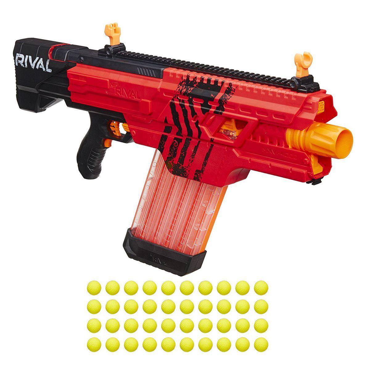Nerf Rival Khaos Gun MXVI-4000 Blaster Boys Toy - Red (Parallel Import).  Loading zoom