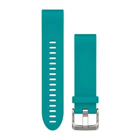 Garmin QuickFit 20mm Silicone Watch Band - Turquoise