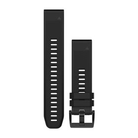 Garmin QuickFit 22mm Silicone Watch Band - Black