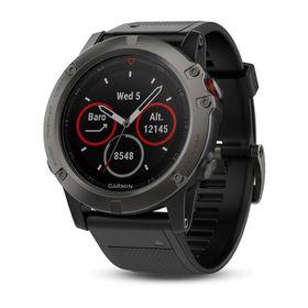 Garmin fenix 5X Sapphire Sports Watch - Slate Grey with Black Band