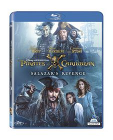 Pirates of the Caribbean - Salazar's Revenge (Blu-ray)