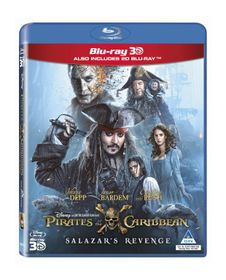 Pirates of the Caribbean - Salazar's Revenge (3D + 2D Blu-ray)