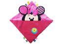 Disney - Minnie Square Comforter - Pink & Black