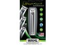 Wahl Lithium Ion Advanced Stainless Steel Trimmer Kit - 23 Piece