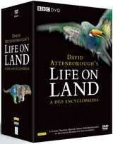David Attenborough's Life On Land - A DVD Encyclopaedia (DVD)