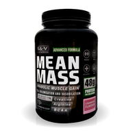 Mean Mass Anabolic Muscle Gain Strawberry Flavour