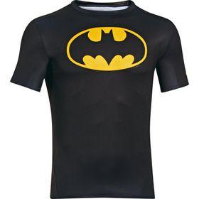 Under Armour Mens Compreshort Sleeveion Short Sleeve Batman Tee - Black