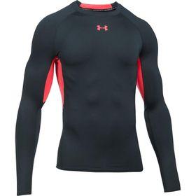 Under Armour Mens Heatgear Long Sleeve Shirt - Anthracite