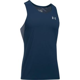 Under Armour Mens Transport Singlet Vest  - Academy