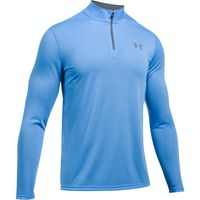 Under Armour Mens Threadborne 1/4 Zip Long Sleeve Shirt - Mako Blue