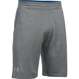 Under Armour Mens Tech Terry Short - True Grey Heather