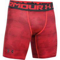 Under Armour Mens Heatgear Coolong Sleeve Shirtwitch Short - Marathon Red