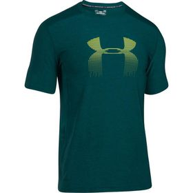 Under Armour Mens Raid Graphic Short Sleeve Tee - Arden Green