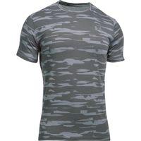Under Armour Mens Threadborne Run Mesh Short Sleeve Tee - Stealth Grey