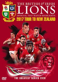 British and Irish Lions: OfficialTestMatch Highlights - 2017 TourtoNew Zealand (Parallel Import - DVD)