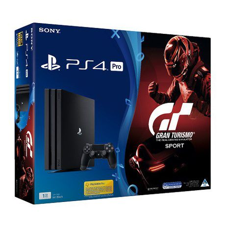 Playstation 4 1TB Pro Console + GT Sport Game (PS4)