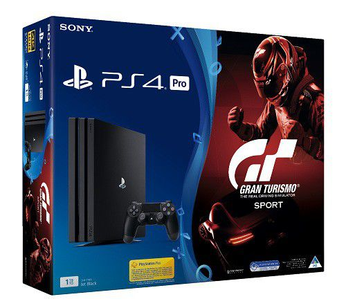 Playstation 4 1TB Pro Console GT Sport Game PS4 Loading Zoom
